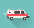 Ambulance car icon Royalty Free Stock Photo