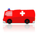 Ambulance car Royalty Free Stock Photo