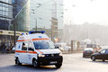 Ambulance in Cluj Napoca Royalty Free Stock Photo