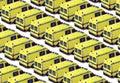 Ambulance Fleet Royalty Free Stock Photo