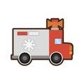 ambulance service transport emergency Royalty Free Stock Photo