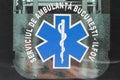 Ambulance sign Royalty Free Stock Photo