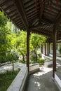Ambulatory this photo was taken in zhan garden nanjing city jiangsu province china photo taken on aug th Stock Images