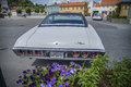 Amcar classic chevrolet impala ss photo is shot at the fish market in halden norway Stock Photo