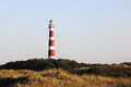 Ameland Lighthouse Bornrif near Hollum, the Netherlands Royalty Free Stock Photo