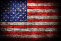 America flag Royalty Free Stock Photo