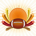 America football background Royalty Free Stock Photography