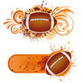 America football design element Royalty Free Stock Photography