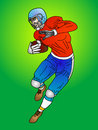 America football player Royalty Free Stock Image