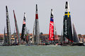 America's Cup World Series in Venice Stock Image