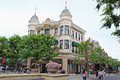 America Waterfront at Tokyo DisneySea Royalty Free Stock Photo
