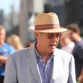 American actor James Spader at the red carpet before US Open 2016 men`s final match at USTA National Tennis Center Royalty Free Stock Photo