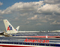 American Airlines Stock Images