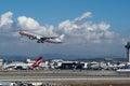 American Airlines strumień bierze daleko Zdjęcia Stock