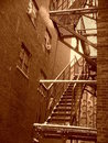 American alley Royalty Free Stock Photography