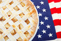 American as Apple Pie Royalty Free Stock Photo