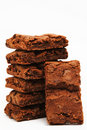 American Brownies Royalty Free Stock Photo
