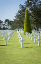American Cemetary, Normandy, France Royalty Free Stock Photo