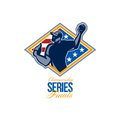 American Championship Series Finals Baseball Royalty Free Stock Image