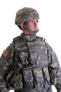 American Combat Soldier Royalty Free Stock Photo