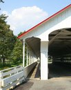 American covered bridge Royalty Free Stock Photography