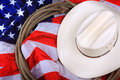 American Cowboy Symbol  Royalty Free Stock Images