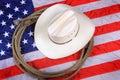 American Cowboy Symbol Royalty Free Stock Photo