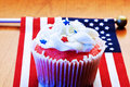 American cupcake Royalty Free Stock Photography