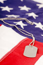 American Dog Tags Stock Images