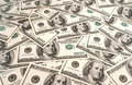American dollar's background Stock Photo