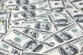 American dollars close up of Royalty Free Stock Image