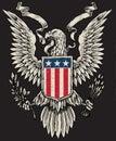 Americký orol vektor