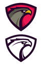 American Eagle logotype in shield