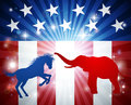 American Election Concept Royalty Free Stock Photo