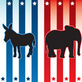 American election vector illustration Stock Image