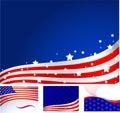Americký vlajka