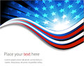 American flag, abstract background of the Royalty Free Stock Photo