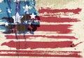 American flag artwork