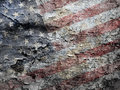 American flag background. Royalty Free Stock Image