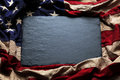 American flag background for Memorial Day or 4th of July Royalty Free Stock Photo