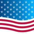 American flag background usa culture star form striped countries waving number Stock Images