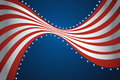 American flag background a vector illustration of design Royalty Free Stock Photography