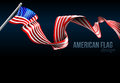 American Flag Design Royalty Free Stock Photo