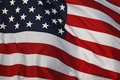 American Flag Detail Royalty Free Stock Photography