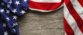 American flag for Memorial day or Veteran`s day background