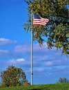 Glorious Old Glory Royalty Free Stock Photo