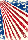 American flag poster an background for you Royalty Free Stock Image