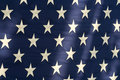 American Flag Stars Royalty Free Stock Photography