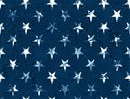 American Flag Stars - Seamless Pattern Textured