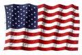 AMERICA FLAG WAVING